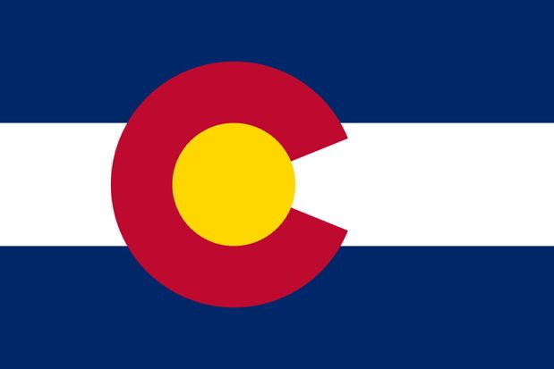 The state flag of Colorado
