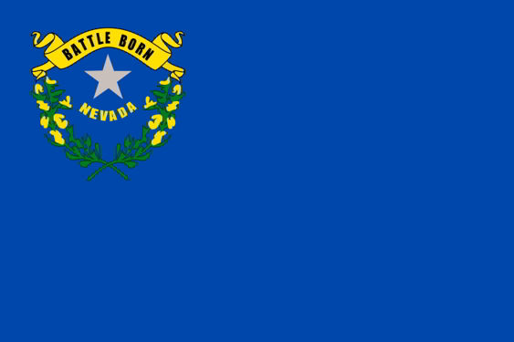 The state flag of Nevada