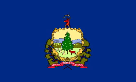 The state flag of Vermont