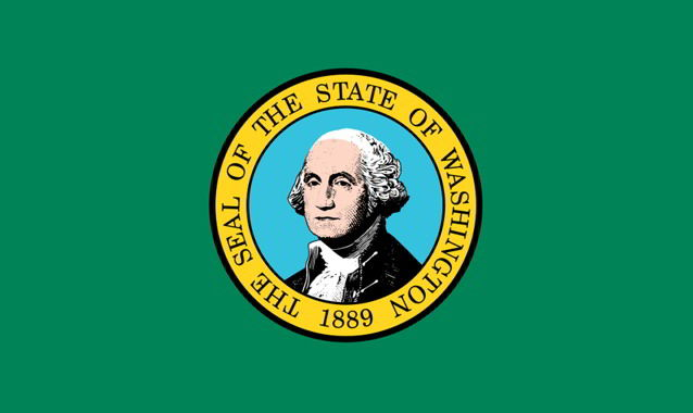 The state flag of Washington